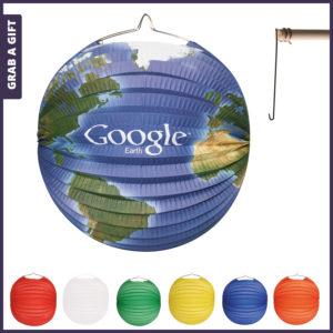 Grab a Gift - Ronde papieren lampionnen bedrukken met logo