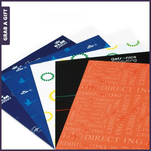Grab a Gift - Inpakpapier Full Colour bedrukken met logo of ontwerp