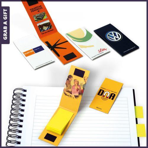 Grab a Gift - Magnetische boekenlegger bedrukken met logo