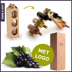 Grab a Gift - RackPack Wijnverpakkingen met logo Bedrukking