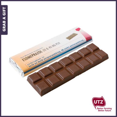 Grab a Gift - Wikkel chocoladereep Full Colour bedrukken