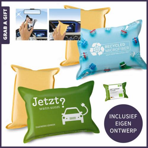 Grab a Gift Relatiegeschenken- Autosons autosponsenall-over bedrukken met logo en reclame in kleur