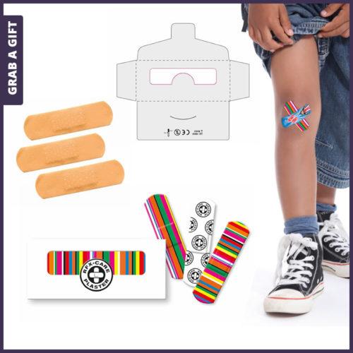 Grab a Gift - Mini envelopje met 3 pleisters bedrukken