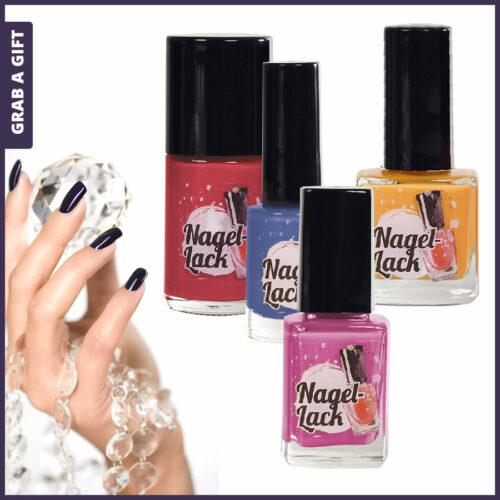 Grab a Gift Relatiegeschenken - Etiketten flesjes met nagellak bedrukken