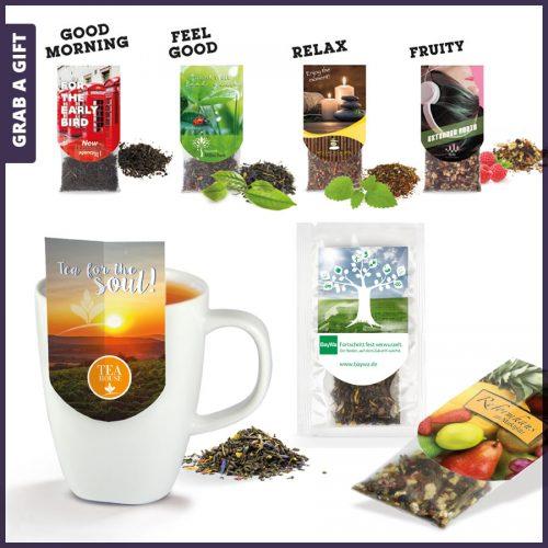 Grab a Gift - Hoogwaardige thee met opvallend logo