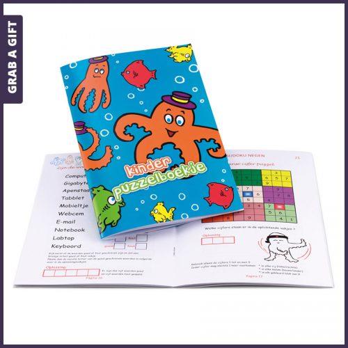 Grab a Gift - Puzzelboekjes voor kinderen Full Colour bedrukken