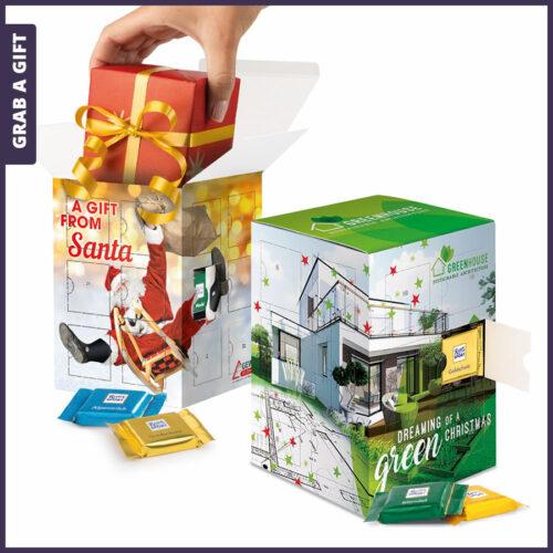 Grab a Gift Relatiegeschenk - Adventstoren bedrukken met logo en eigen ontwerp