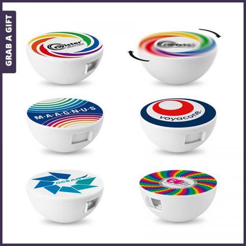 Grab a Gift - Mint Twister bedrukken met Full Colour logo
