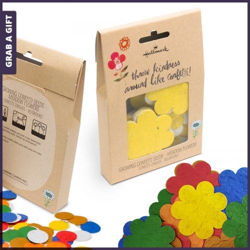 Grab a Gift - hangdoosje bloemconfetti bedrukken met logo