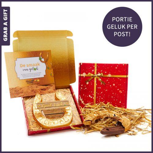 Grab a Gift - De smaak van geluk als brievenbuscadeautje