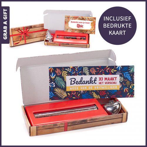 Grab a Gift - brievenbus cadeautje met kokertje thee en thee-ei naar keuze