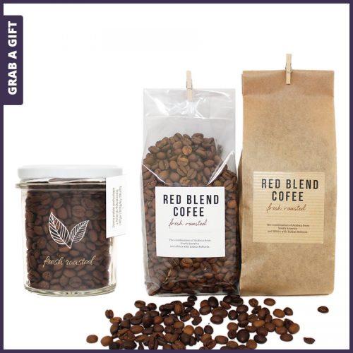 Grab a Gift - vers gebrande koffie met logo als telatiegeschenk