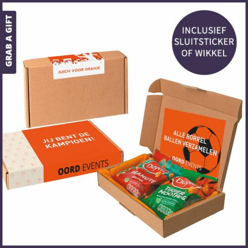 Grab a Gift Relatiegeschenken - GO NUTS brievenbusdoosje versturen