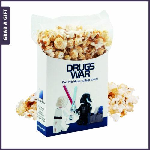 Grab a Gift - Popcorn to go (40 gr) in full colour bedrukte popcorndoos