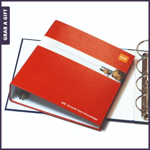 Grab a Gift - Ringband, Mappen en Ordners all-over in kleur bedrukken