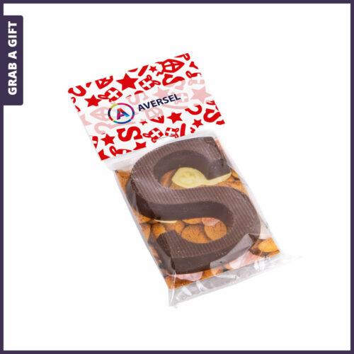 Grab a Gift - Schoenletter 40 gram met een full colour bedrukt kopkaartje